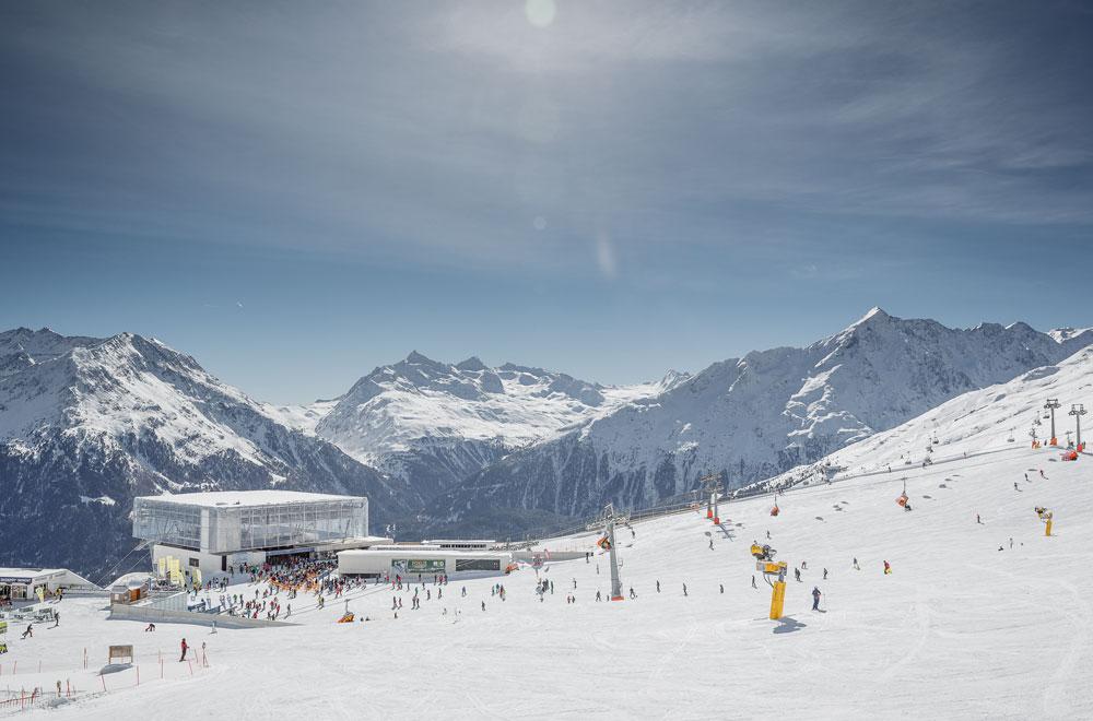 Giggijochbahn in Sölden © Bergbahnen Sölden / Rudi Wyhlidal