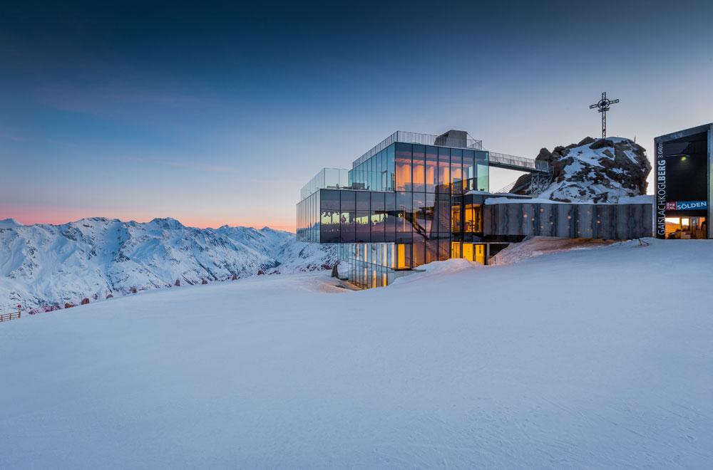 Ice Q im Skigebiet Sölden © Bergbahnen Sölden /  Rudi Wyhlidal