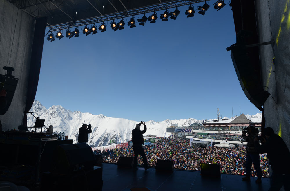 Top of the Mountain Concert in Ischgl © TVB Paznaun - Ischgl