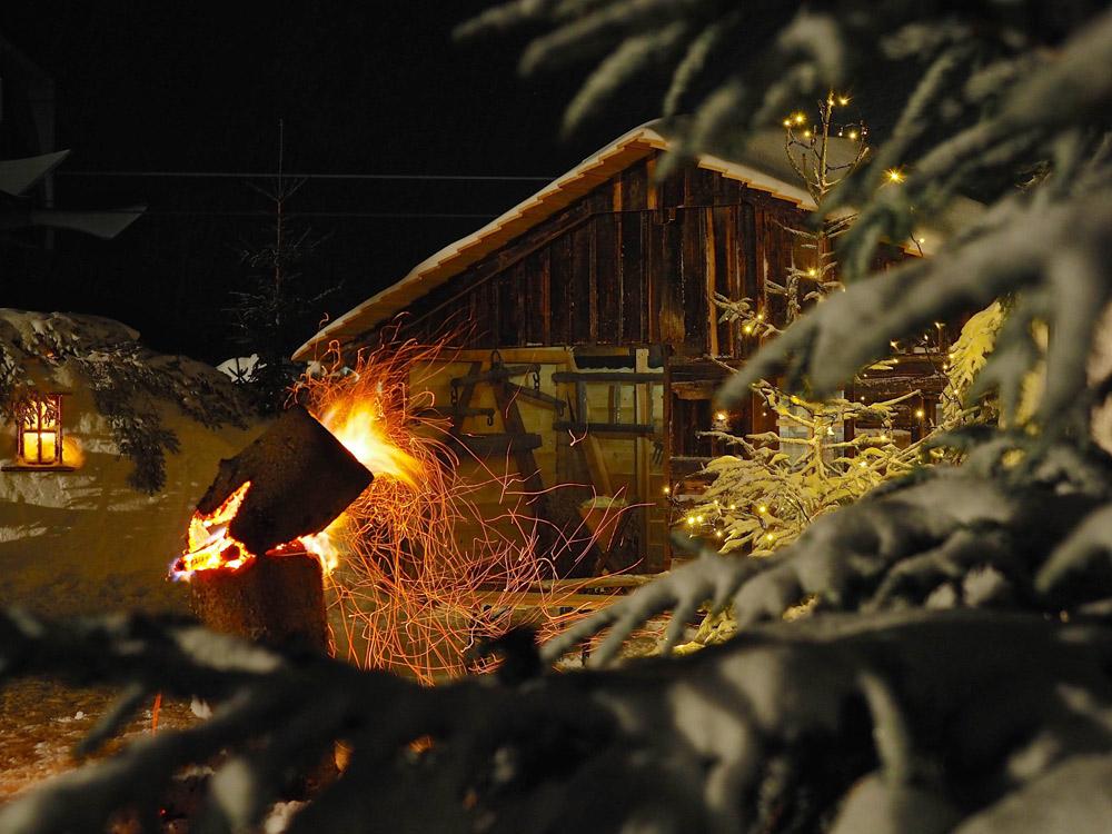 Gipfelweihnacht auf der Riesneralm
