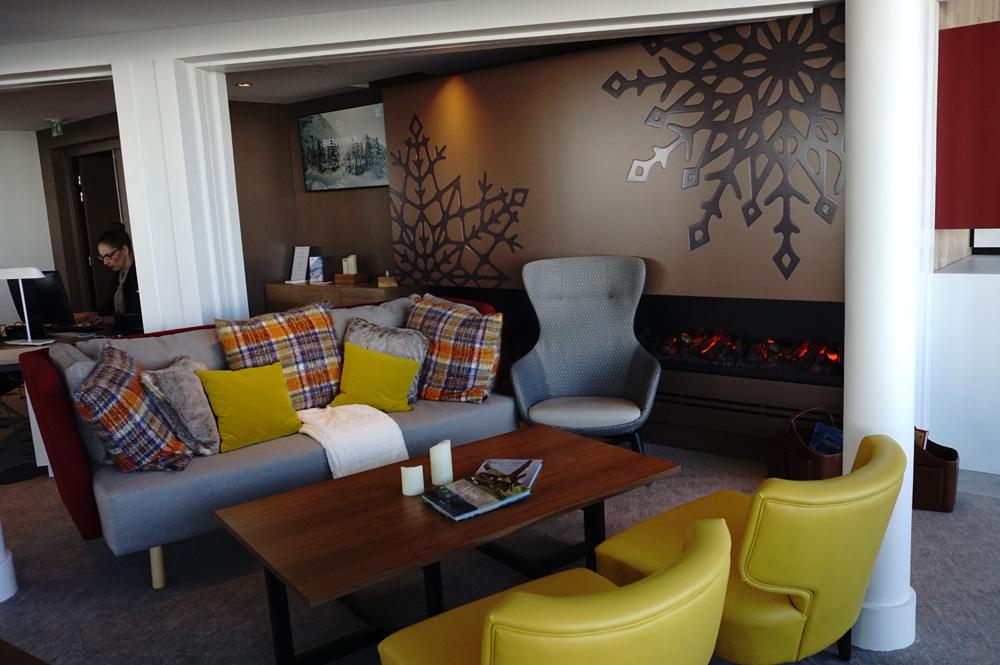 Lounge Bereich Le Belvédère des Club Med Les Arcs Panorama Resort