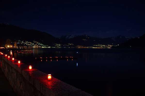 Laternen am Lago Maggiore