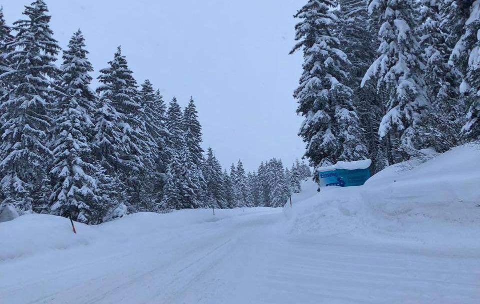 Schneemassen in der Zillertal Arena