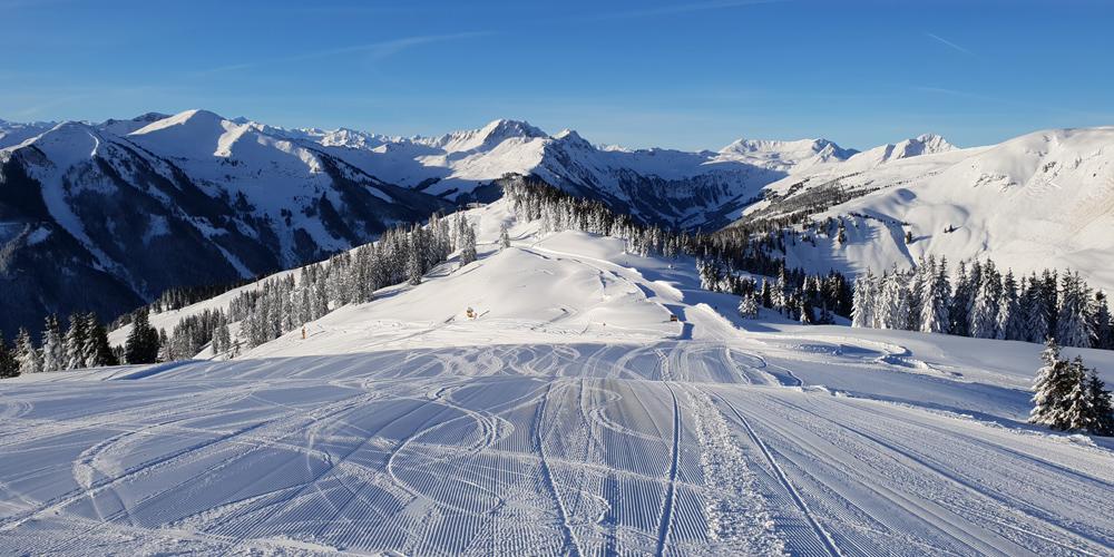 Aktuelles Bild aus dem Skigebiet Saalbach Hinterglemm Leogang Fieberbrunn