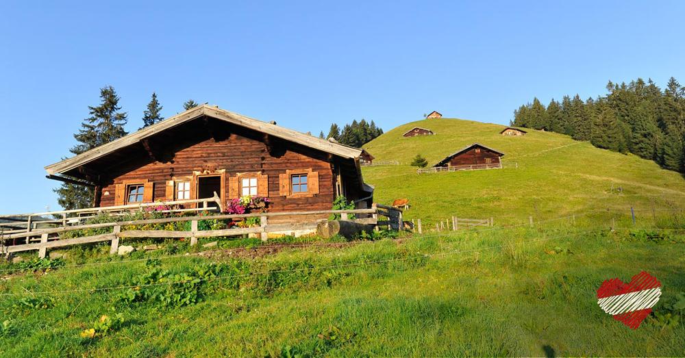 Almhütte in Österreich