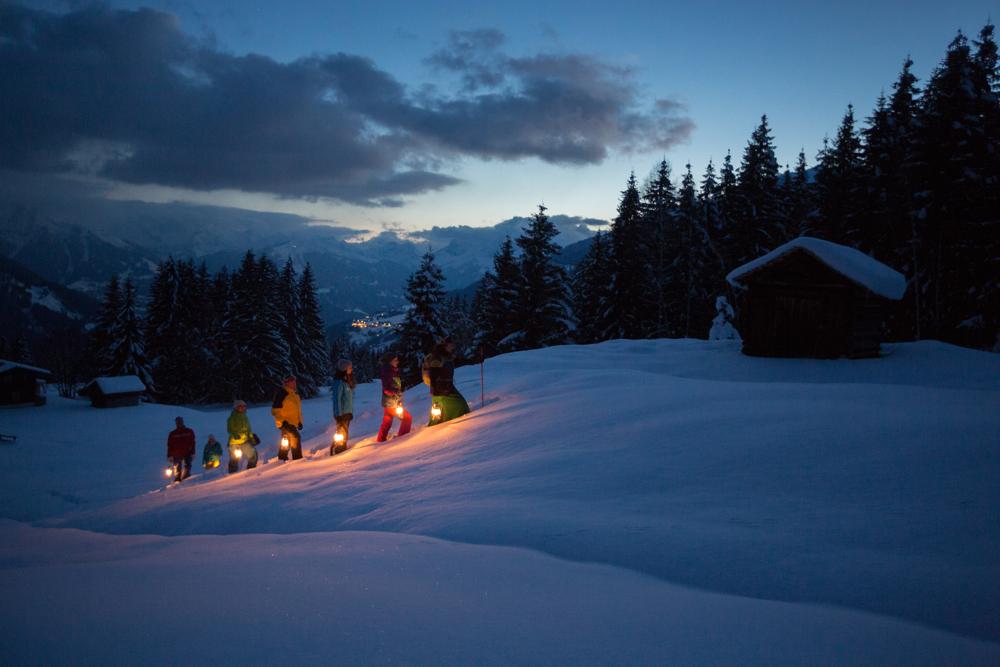 Nachtwanderung am Kristberg