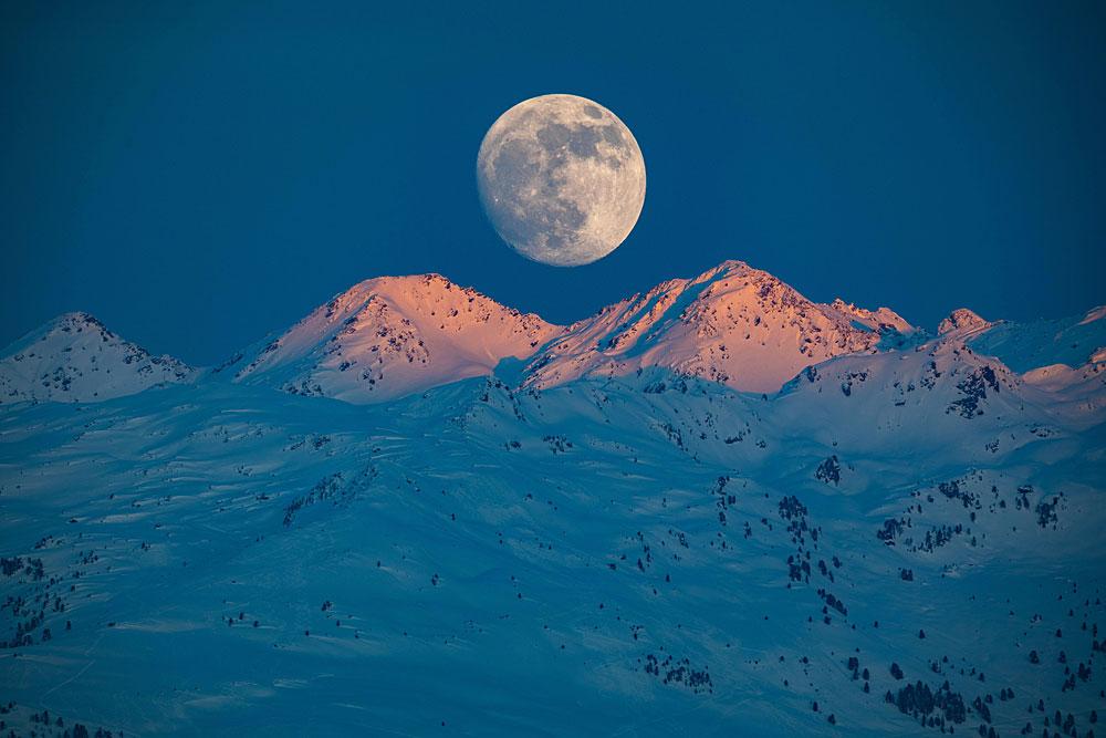 Full Moon Skiing in Hochzillertal-Kaltenbach