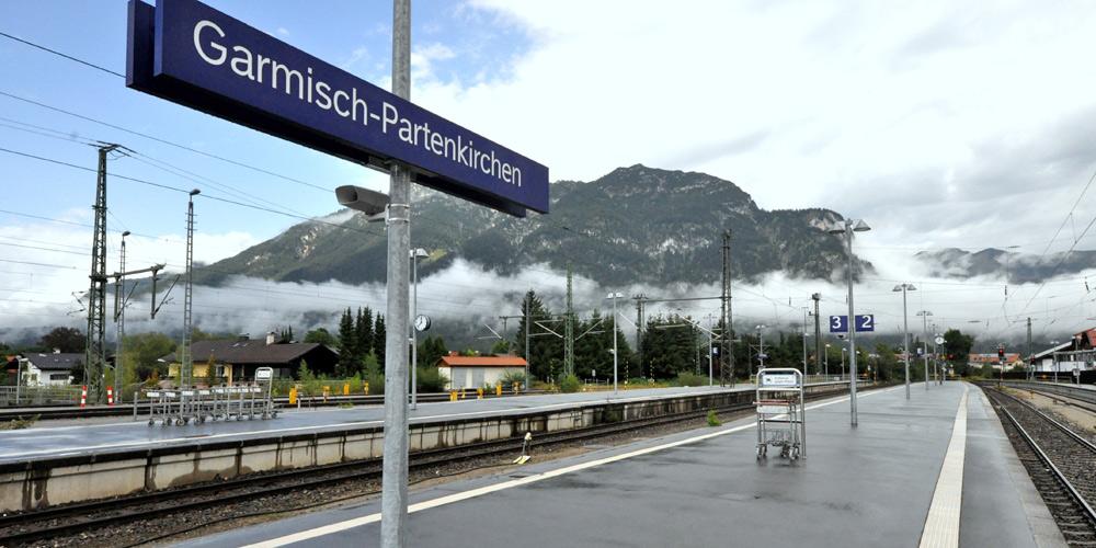 Bahnhof in Garmisch-Partenkirchen