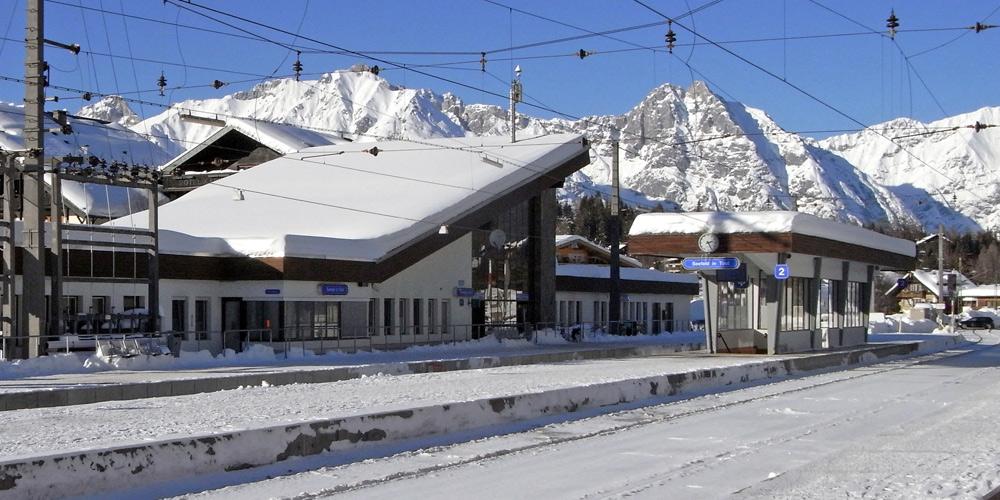Bahnhof in Seefeld