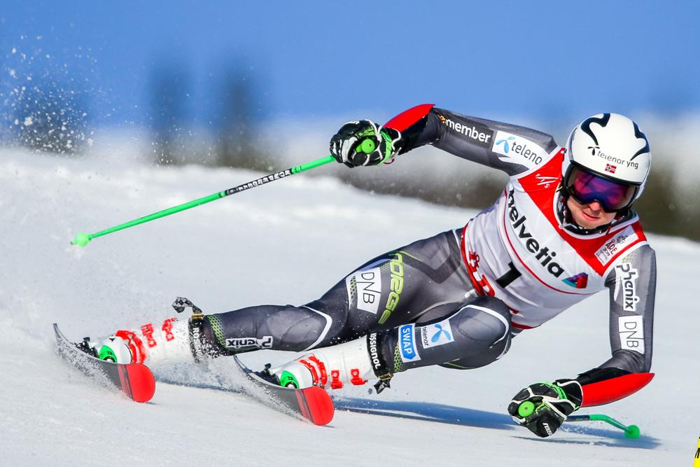 Henrik Kristoffersen beim Skirennen