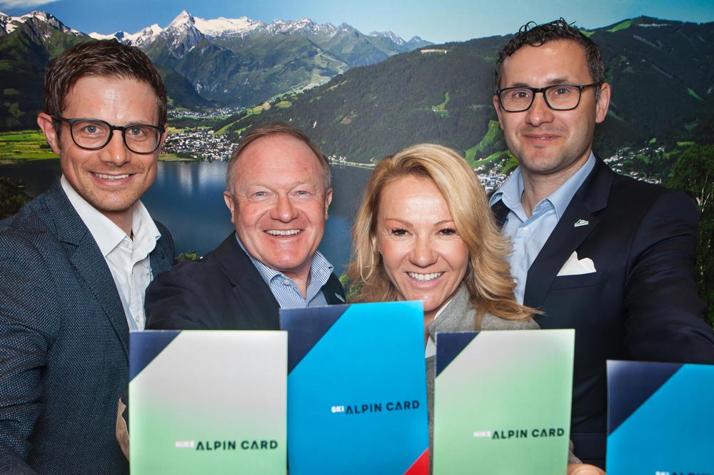 Geschäftsführer der beteiligten Region der ALPIN CARD auf der ITB Berlin