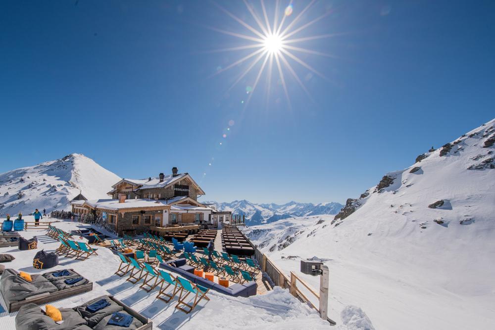 Hütte im Skigebiet Hochzillertal