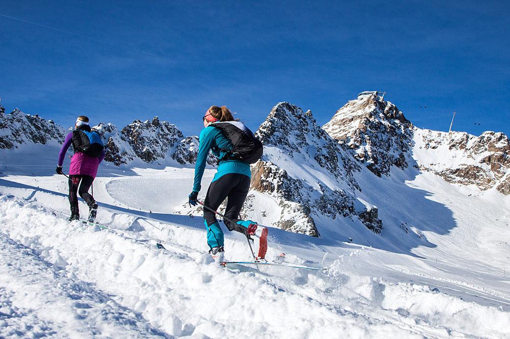 Gipfelsturm bei der Pitztaler Gletscherparty