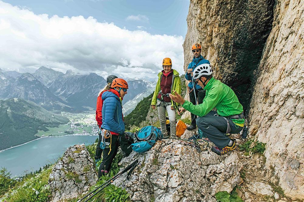 Klettercamp Achensee