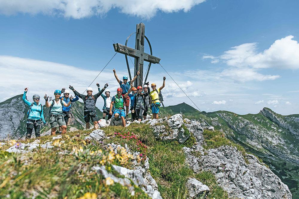 Klettersteig-Trainingscamp