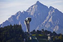 Skisprungschanze Bergisel in Innsbruck