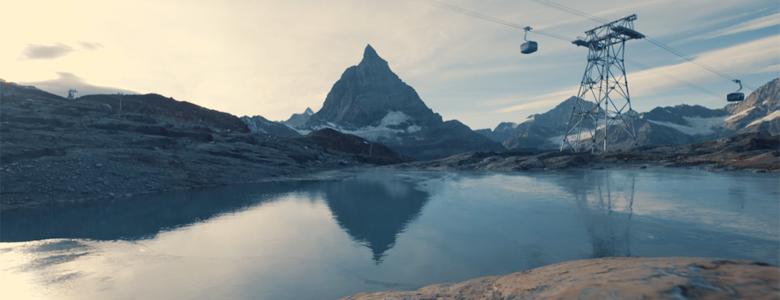 Seilbahn in Zermatt