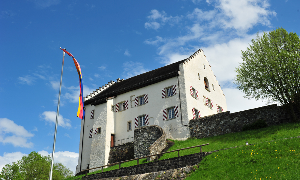 Kirchhügel Bendern in Liechtenstein