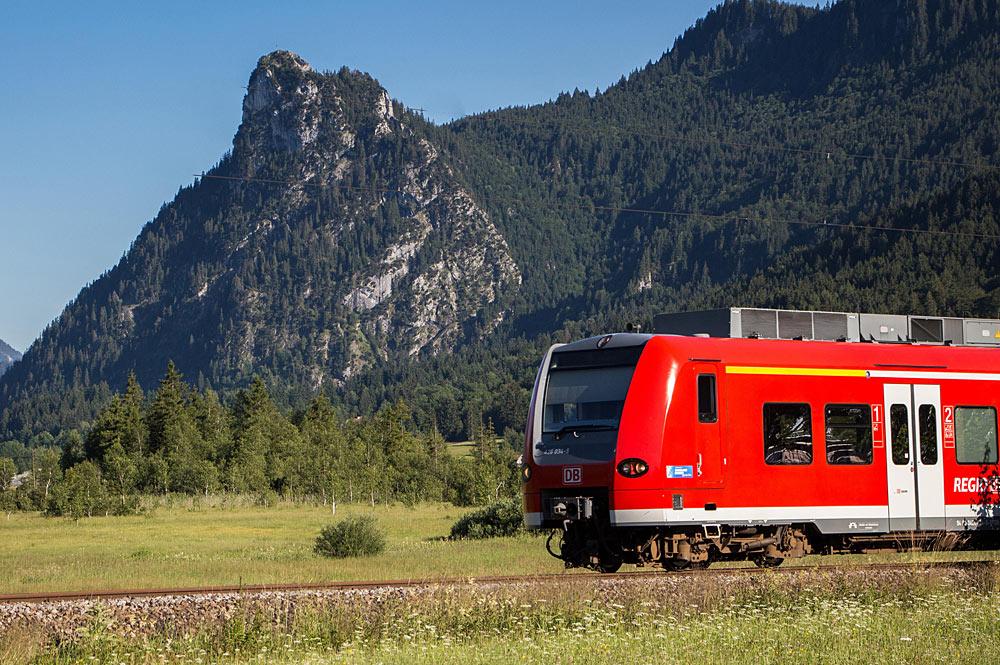 Mit der Ammergaubahn durch die Zugspitzregion