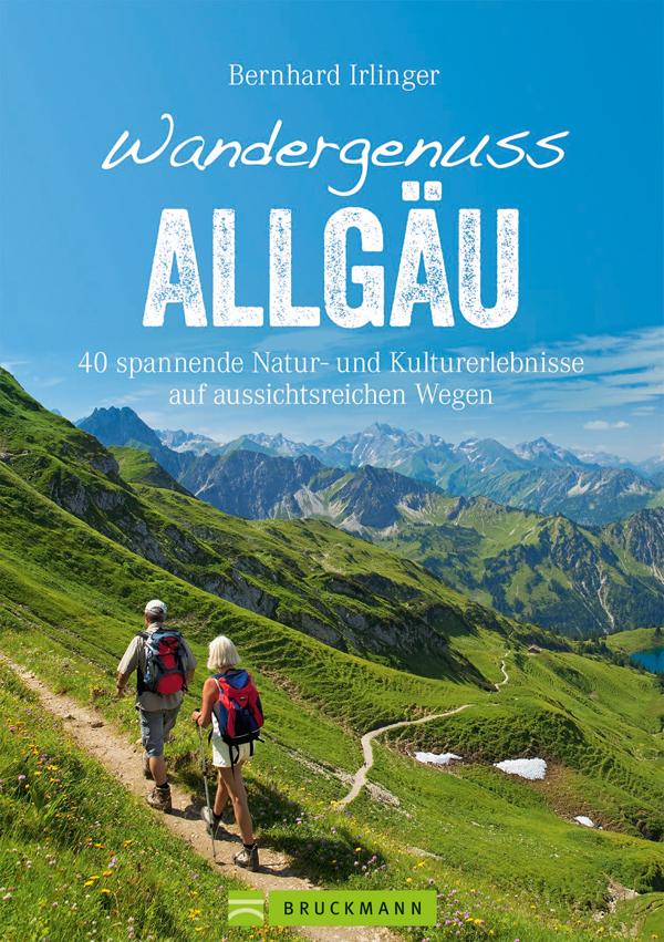 Buchcover Wandergenuss Allgäu