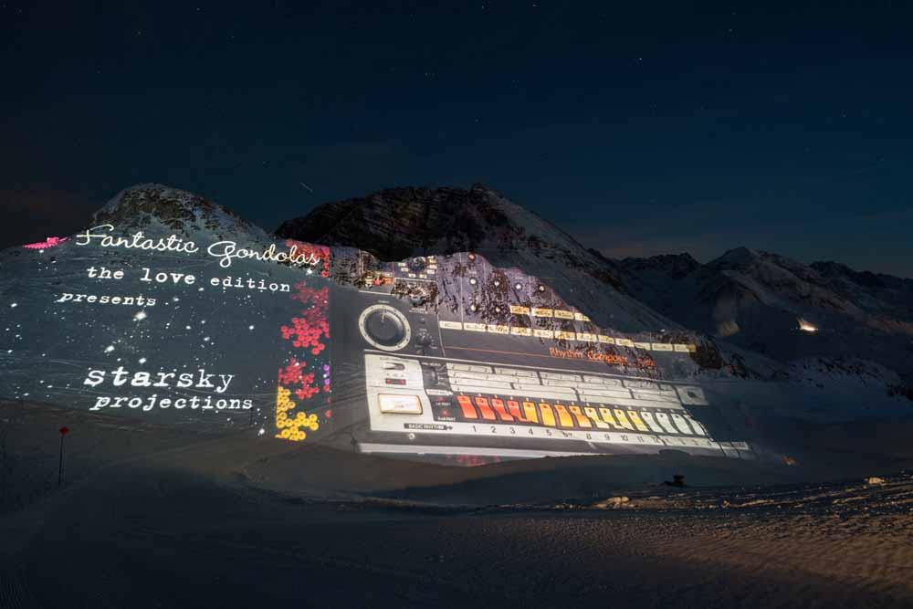 Lichtinszenierung bei Fantastic Gondolas