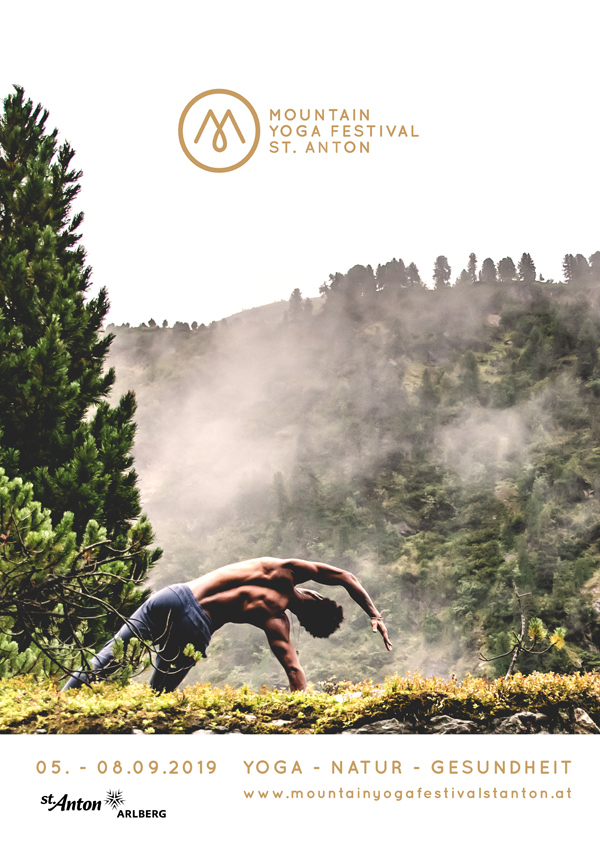 Plakat Yoga Mountain Festival 2019