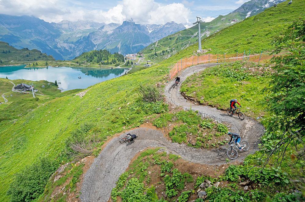 Biken in Engelberg