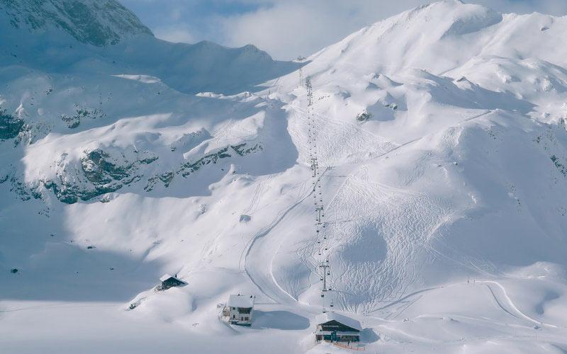 Skigebiet Lech Zürs am Arlberg