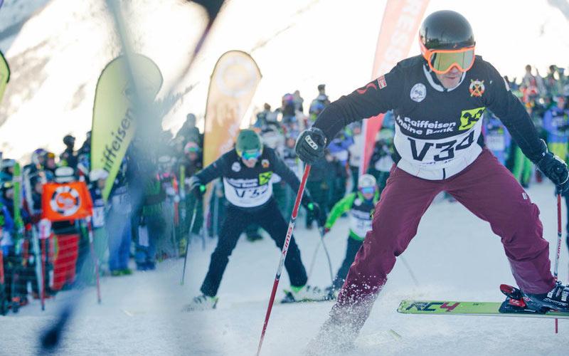 Skirennen Der Weiße Ring in Lech Zürs