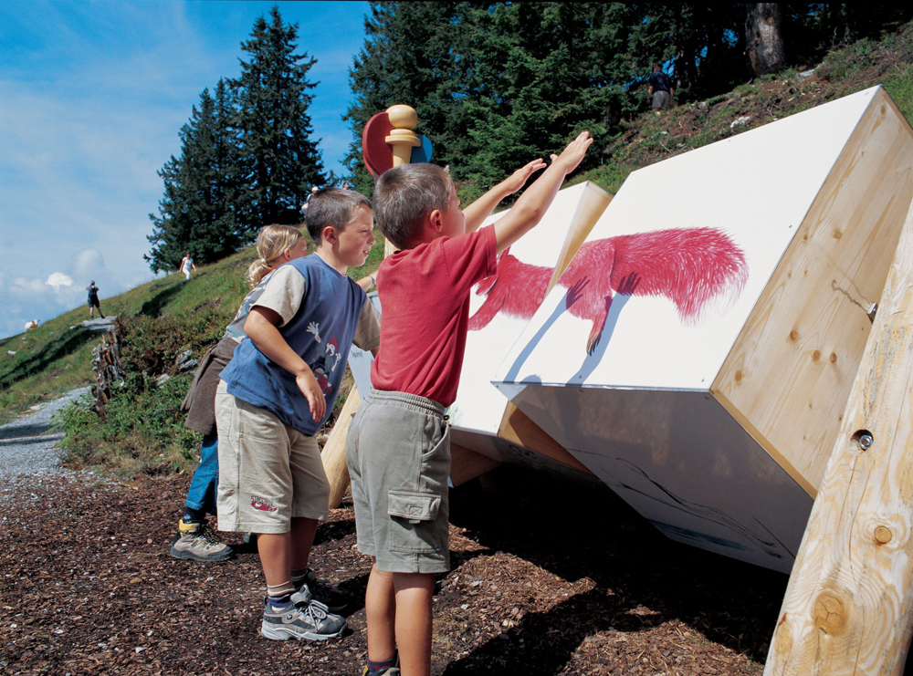Kinder im Entdeckerpark Alpinolino