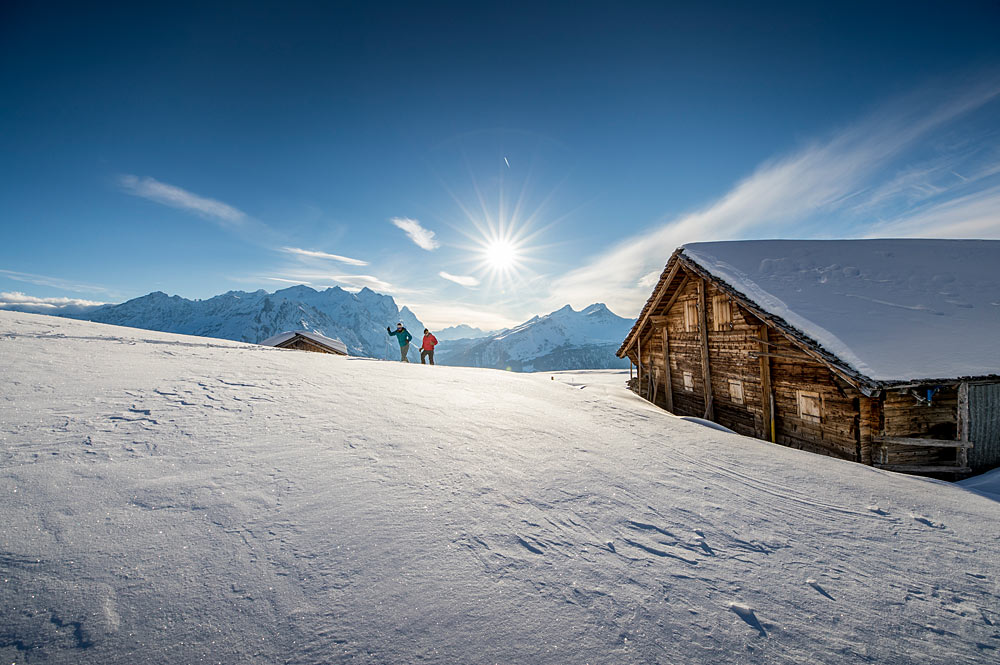 Winterwandern in der Region Bern und im Berner Oberland