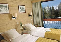 Zimmer im 4****-Hotel Résidence Le Belmont in Les Arcs