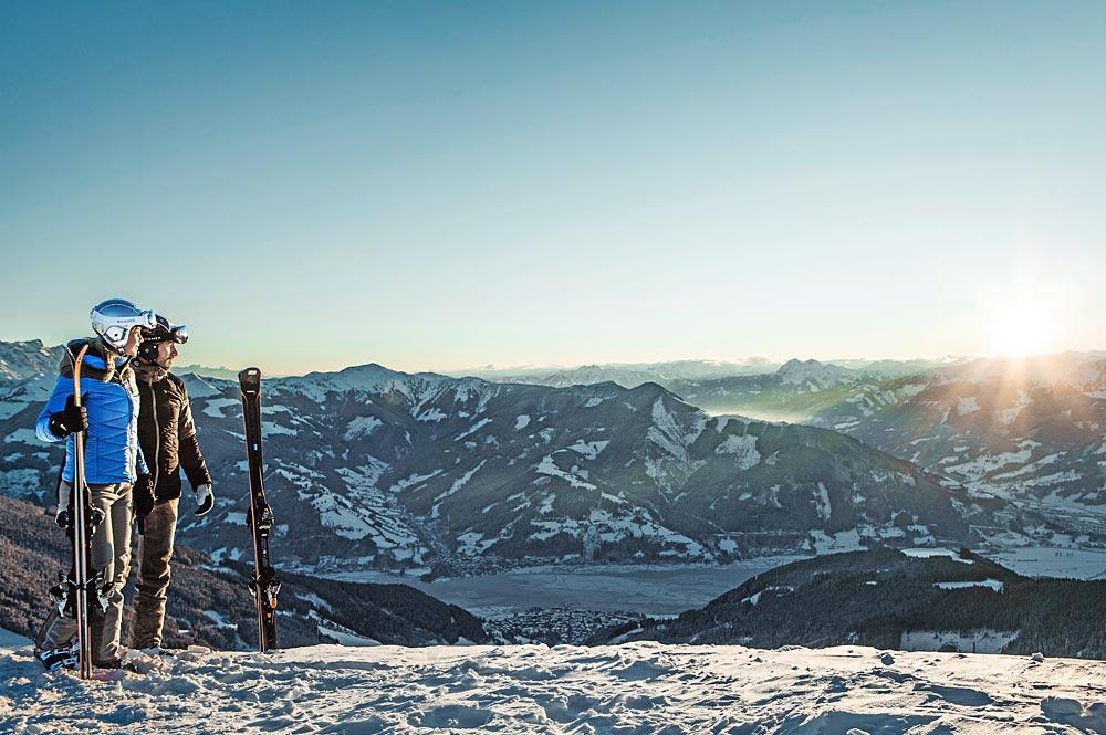 Panoramablick auf der Schmittenhöhe