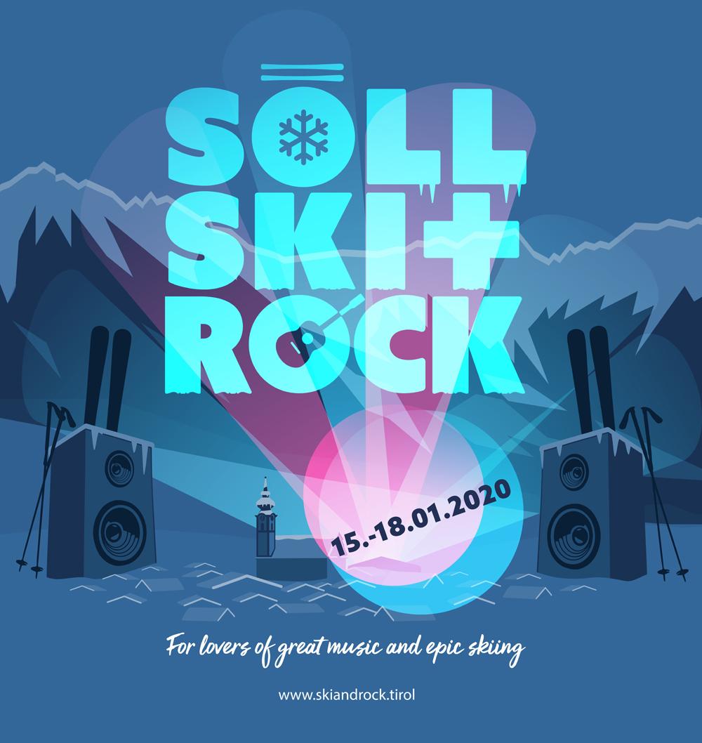 Plakat Söll Ski und Rock