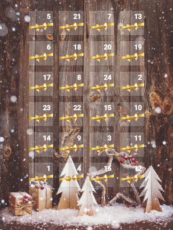 Adventskalender von Yoga Escapes