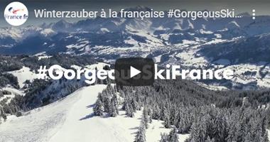 Video zum Skifahren in Frankreich