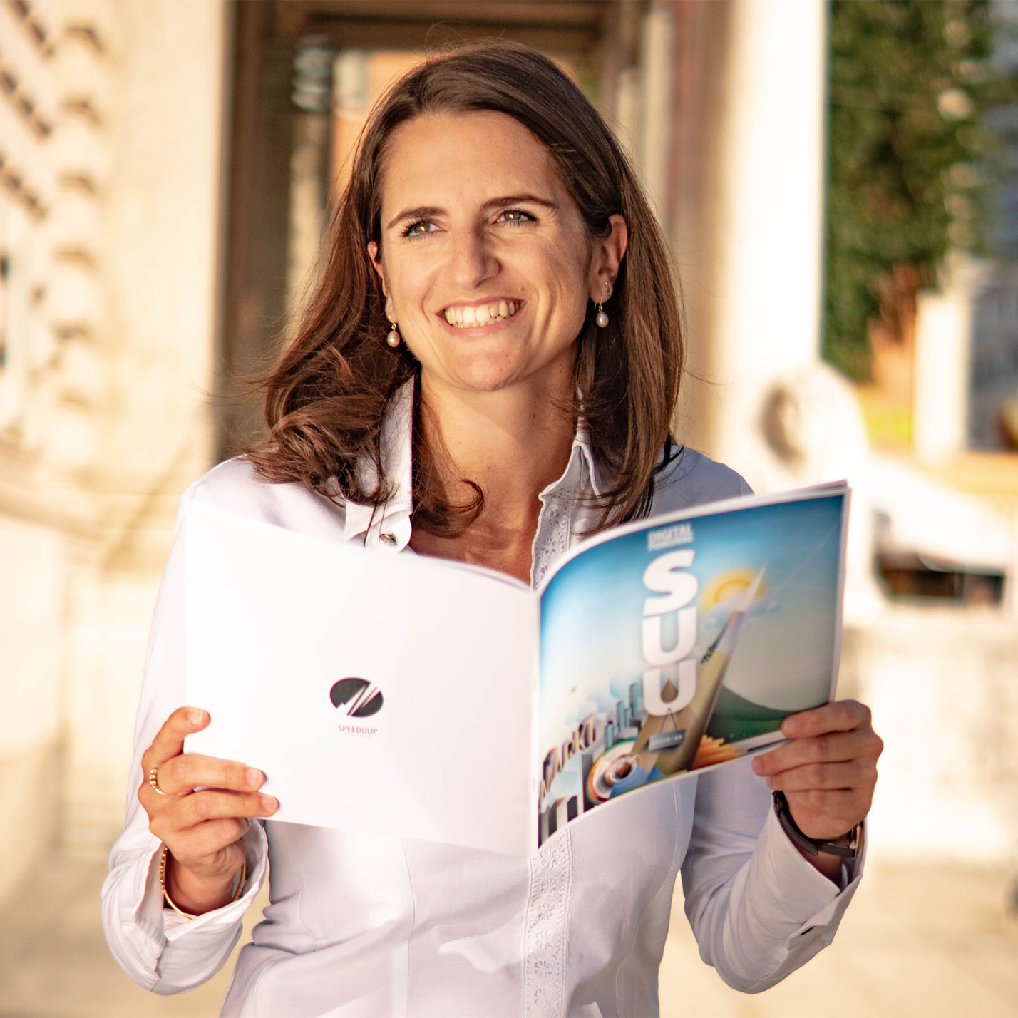 Eva-Maria Hänel, Geschäftsführerin Speed U Up GmbH