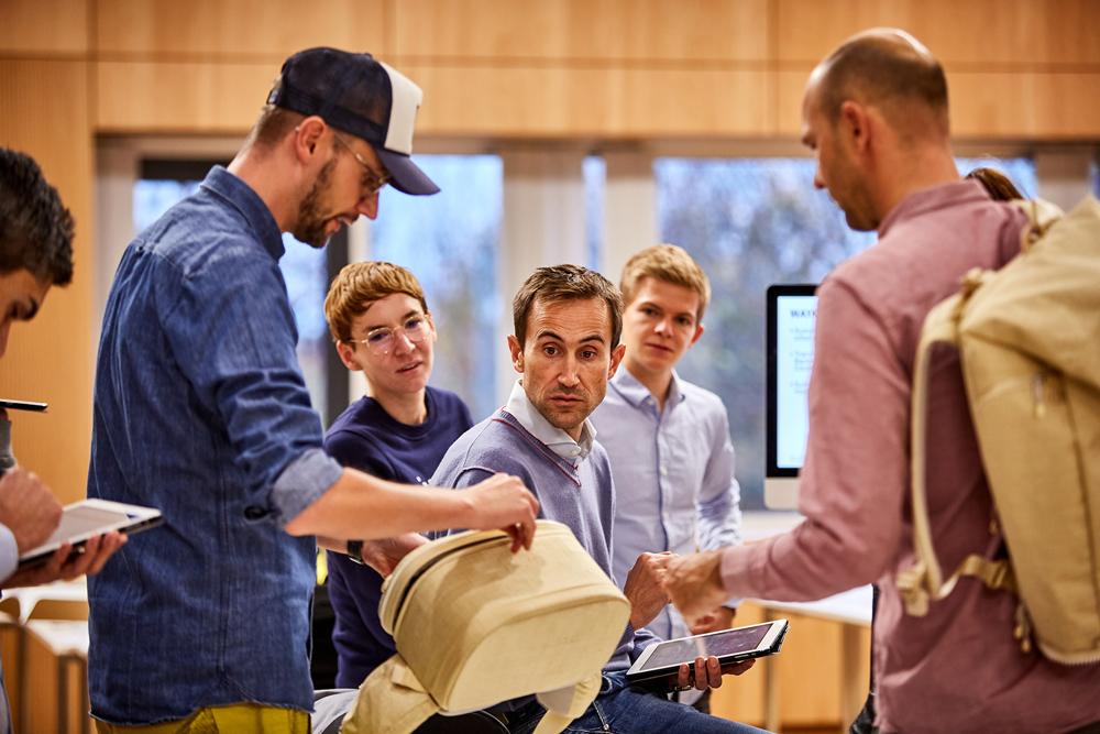 Produktpräsentation auf der ISPO