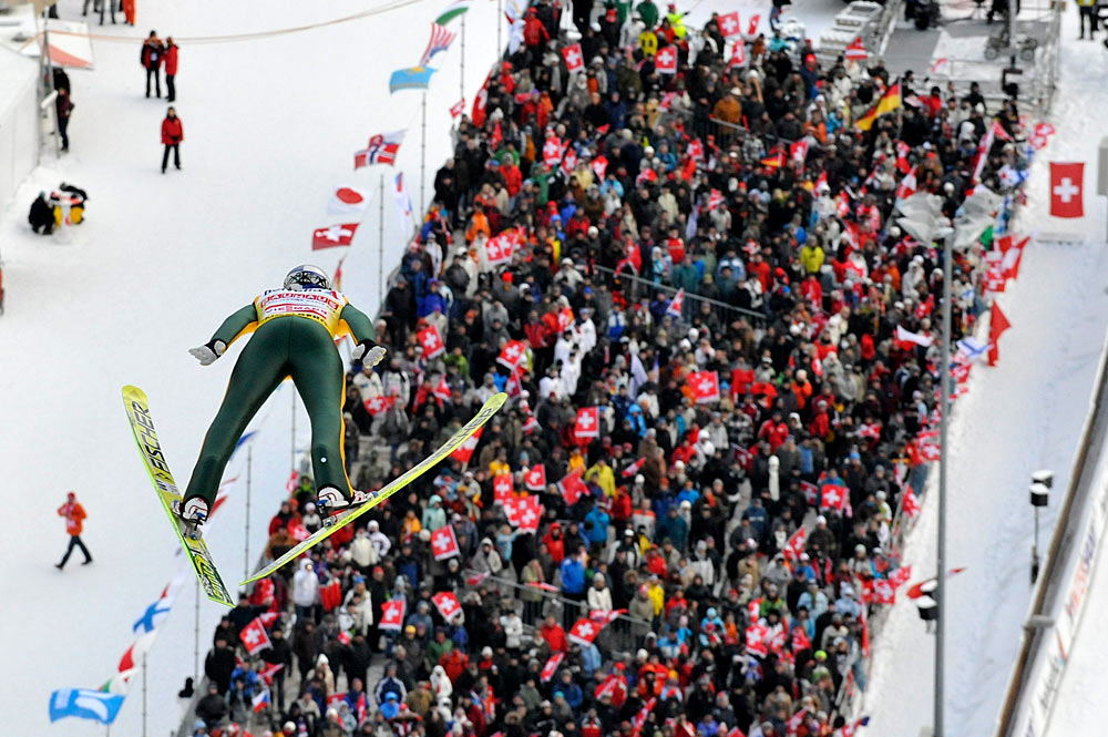 FIS Skisprung Weltcup in Engelberg