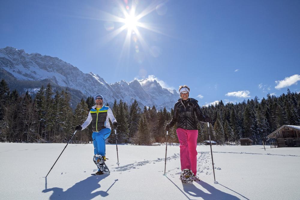 Schneeschuhwandern in Grainau