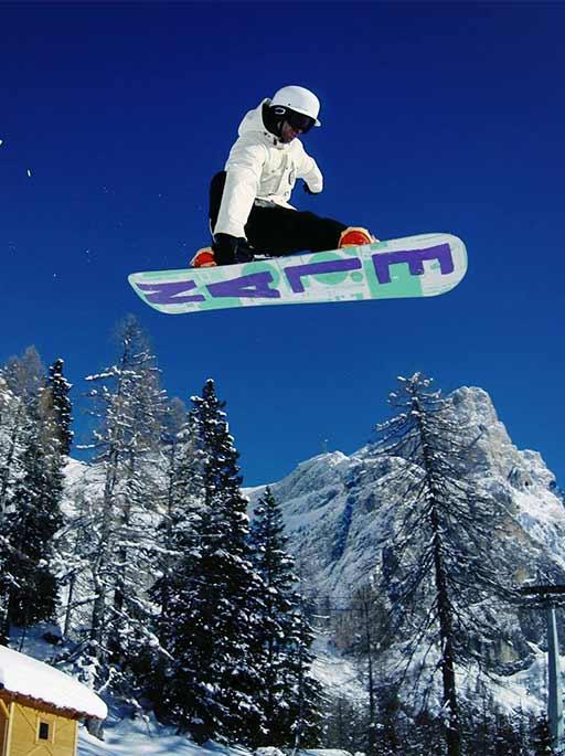 Snowboarder prägen bis heute den Skilook auf der Piste