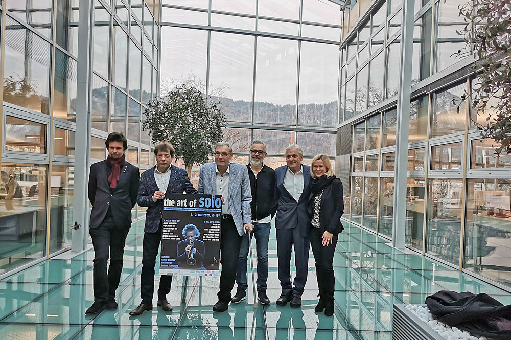 Festivalkomitee des ersten Internationalen KlangFarben Festivals in Kufstein