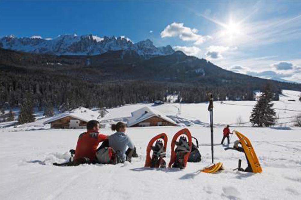 Schneeschuhwanderung vom Bauernhof