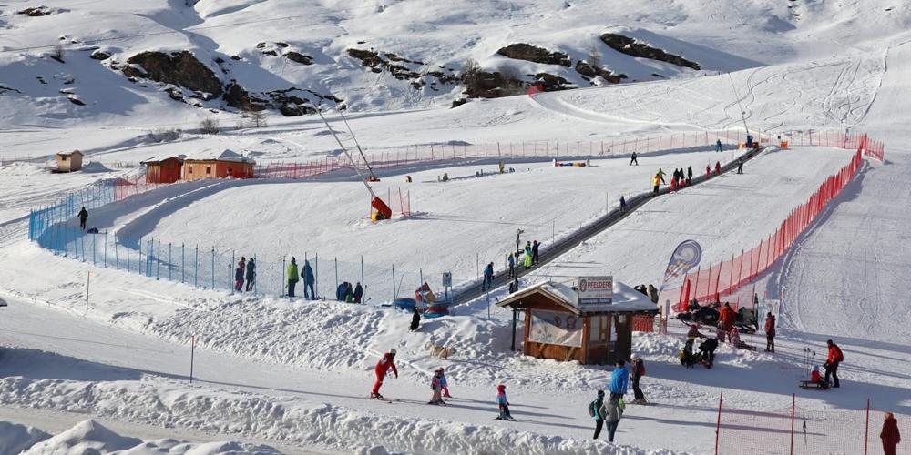 Murmi-Snowpark in Pfelders
