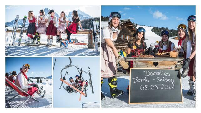 Dolomites Dirndl Day auf der Seiser Alm und in Gröden