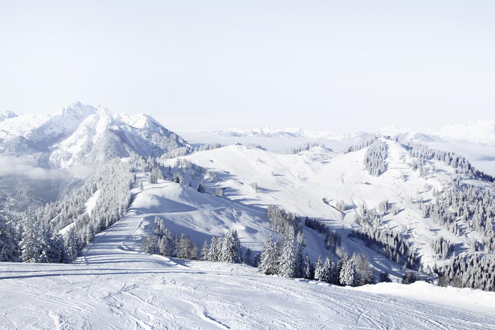 Blick Richtung St. Johann im Snow Space Salzburg