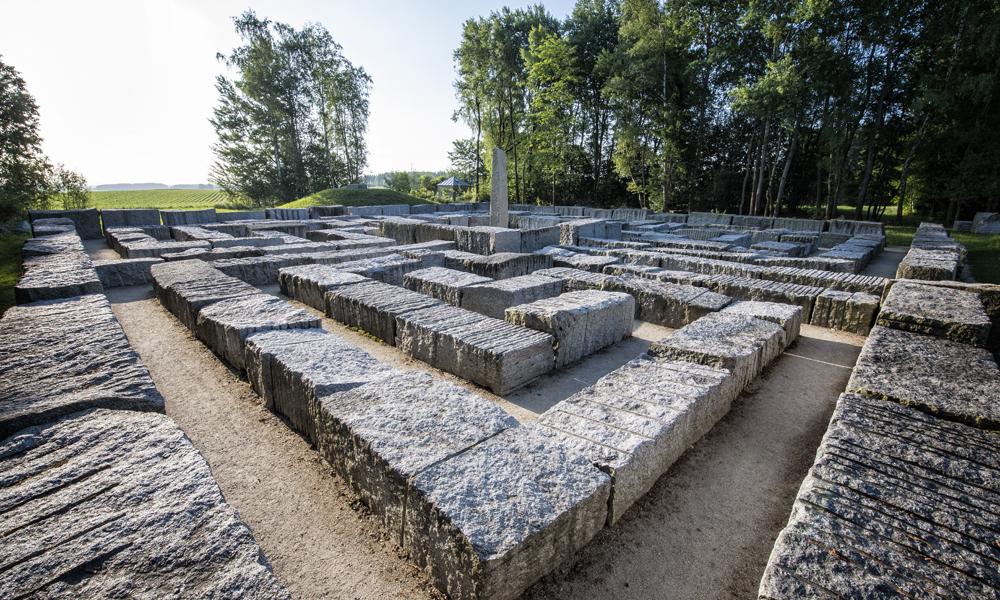 Blick auf das Granitlabyrinth Kirchenlamitz © TZ Fichtelgebirge / Florian Trykowski