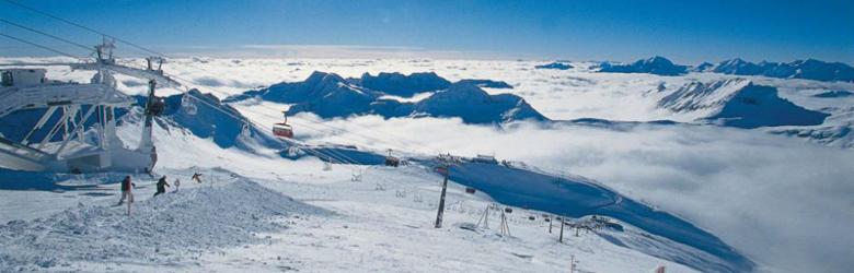 Pisten am Mölltaler Gletscher
