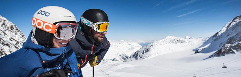 Gletscherskifahren auf dem Stubaier Gletscher