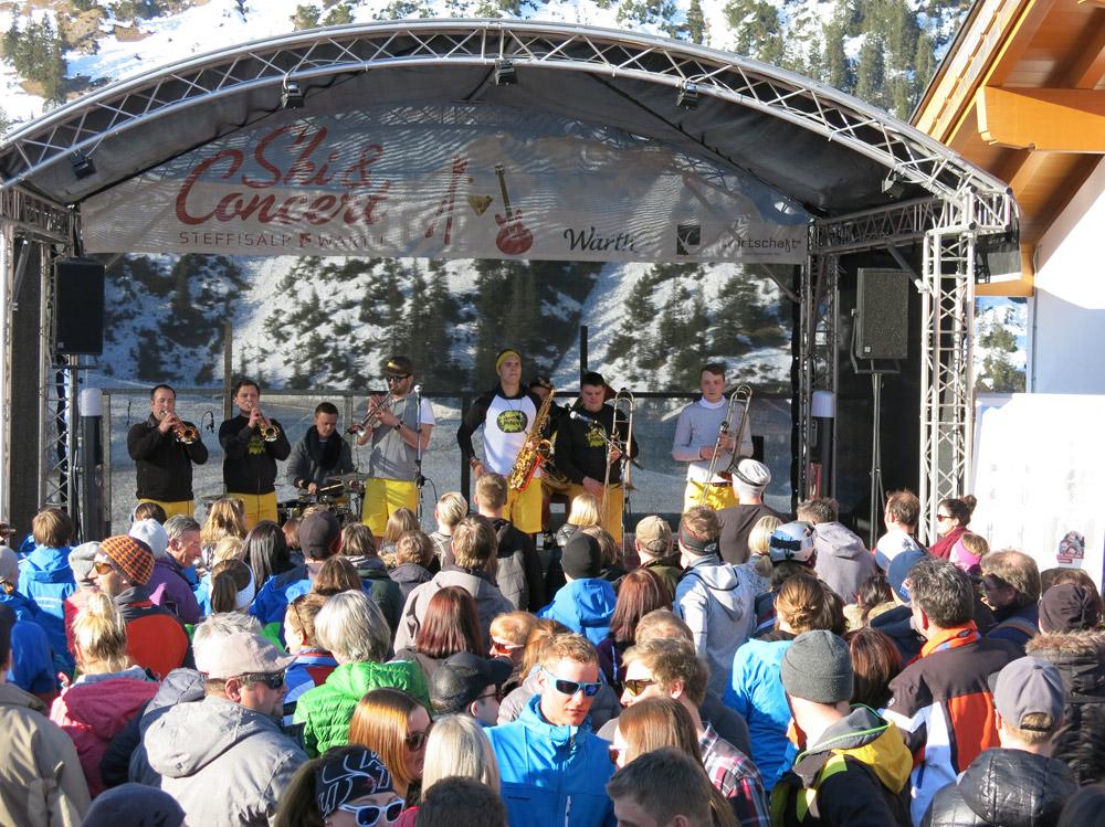 Ski & Concert in Warth-Schröcken